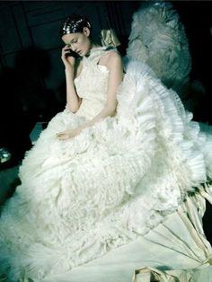 Kirsi Pyrhonen Backstage at Alexander McQueen Fall/Winter 2011