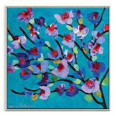 Anna Blatman | Maggie Blue | Framed Canvas | Anna Blatman by Artist Lane @ The Home