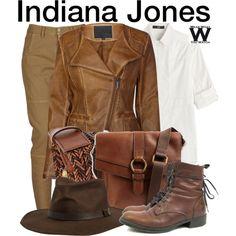 Indiana Jones by wearwhatyouwatch. So CUTE!