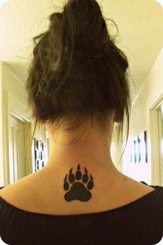 native american bear claw tattoo - Google Search