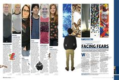 Like the column design for #yearbook 2014 Stony Point Touchstone Fears