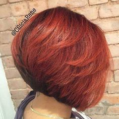 9. Back View of Bob Hairstyle