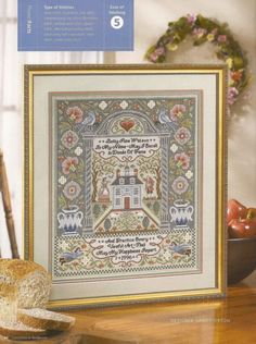SAMPLER cross stitch pattern.  Gallery.ru / Фото #39 - 51 - ZinaidaR