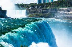 Majestic Niagara falls USA and Canada
