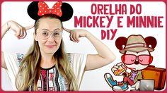 Orelhas do Mickey e Minnie =DiY