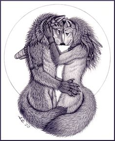 The Lovers by swandog.deviantart.com on @deviantART