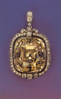 The 102.48 carat Ashberg Diamond was once part of the Imperial Collection before the Revolution.