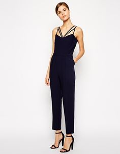 ASOS Jumpsuit With Multi Strap - Super pretty and cute! That's what this dress is. http://asos.to/1uL3EzM