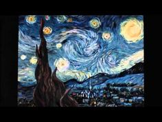 "Greek multimedia artist, Petros Vrellis converts Vincent van Gogh's ""Starry Night"" into a swirl of animation and interactivity. Art Van, Van Gogh Arte, Arte Elemental, Gogh The Starry Night, Vincent Willem Van Gogh, Ecole Art, Multimedia Artist, Van Gogh Paintings, Art And Technology"