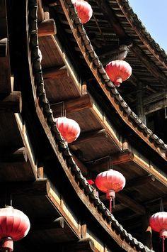 Hakka Tulou Traditional Chinese Housing - Fujian, China