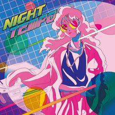Vaporwave to Future Funk: Night Tempo artists on the aesthetics of City Pop - Features - Digital Arts Japanese Aesthetic, Retro Aesthetic, Aesthetic Anime, Retro Kunst, Retro Art, Mode City, Japanese Pop Art, Japanese History, Arte Dope