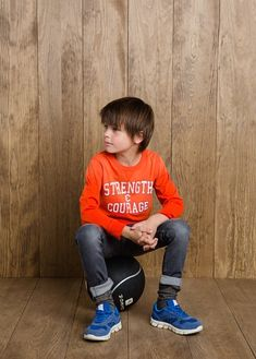 NEW - Printed message t-shirt #FW14 #KIDS #BOYS