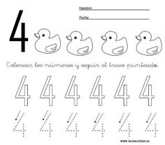 www.lectoescritura.es. Lectoescritura. Preescolar. Educación infantil. Fichas de números para imprimir.