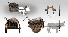 Rustic wagon. by javieralcalde.deviantart.com on @deviantART