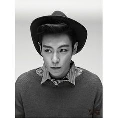Photographer of T.O.P's photo book reveals his pick of the best 15... ❤ liked on Polyvore featuring t.o.p, bigbang and big bang