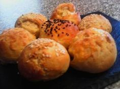 Greek Recipes, Light Recipes, Cheese Recipes, Finger Foods, Food Processor Recipes, Healthy Snacks, Side Dishes, Muffin, Food And Drink
