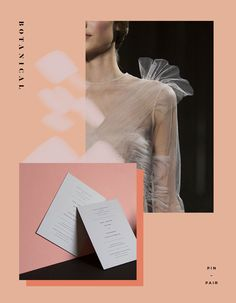 Simple Save the Dates + Sheer Valentino Layers
