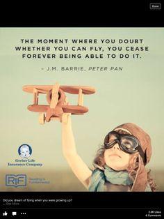 Believe in yourself! Persevere!