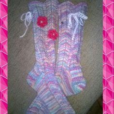 Neuloosi Socks, Fashion, Moda, Fashion Styles, Sock, Stockings, Fashion Illustrations, Ankle Socks, Hosiery