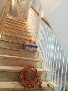 This is one way to update a boring staircase we wish we'd seen sooner