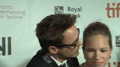 Cute Robert kissing Susan GIF