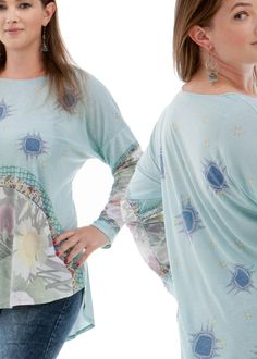 Limited-edition tunic top from Ruby Linker.