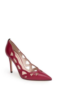 SJP by Sarah Jessica Parker 'Sasha' Cutout Pointy Toe Pump (Women) available at #Nordstrom