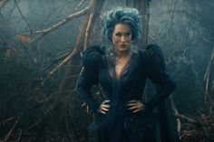 Meryl Streep's witch character has been in hag mode for the entirety of the Into the Woods marketing campaign. But in this glorious new trailer for the Rob Marshall's musical, Streep swaps out the ragged wig and tattered robes for a much more put together look. Her transformation is all part of the intersecting fairytale that includes Cinderella, Rapunzel, Jack (of beanstalk fame), Little Red Riding Hood, and many more.
