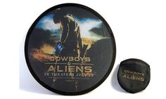 Foldable flying disc from the movie Cowboys & Aliens