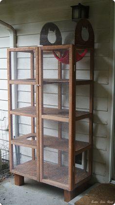 cat diys on pinterest cat enclosure outdoor cat