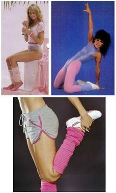 80s Fitness/Aerobics fashion