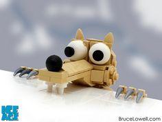 LEGO Scrat by bruceywan, via Flickr