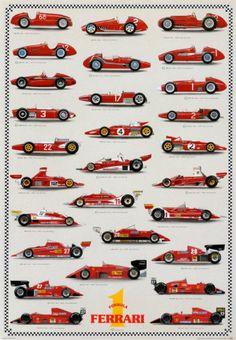 Cars Ferrari Formula I Prints at AllPosters.com