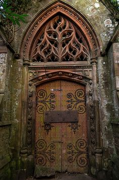Kirkton crypt. (The mount) - Derelict Places Need this for my front door