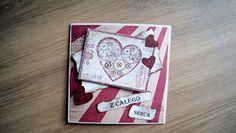 Charming Little Things. Twórczość, pasja, inspiracja.: Walentynkowy cardmaking #1