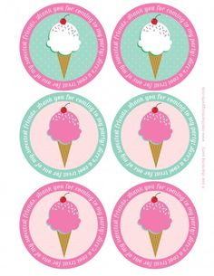 An adorable charming ice cream party featuring ice cream cone cake topper on cake, party hats & headbands, favors in ice cream containers, & more. Ice Cream Party, Ice Cream Theme, Party Cakes, Party Favors, Party Party, Ice Cream Containers, Ice Cream Social, Party Decoration, 4th Birthday Parties