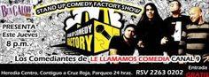 BUNGALOW Presenta Stand Up Comedy Factory Show http://desktopcostarica.com/eventos/2013/bungalow-presenta-stand-comedy-factory-show