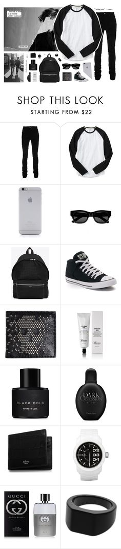 """""""813"""" by glitterals ❤ liked on Polyvore featuring AMIRI, Gap, Native Union, Sun Buddies, Yves Saint Laurent, Converse, Alexander McQueen, Baxter of California, Kenneth Cole and Calvin Klein"""