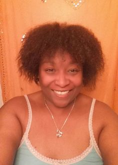 Freshly washed w/Nourishing Coconut milk Shampoo and conditioner fully air dried