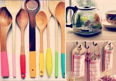 19 ideias para transformar utensílios antigos em itens charmosos de decoração