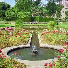 Bateman's - Burwash - Sussex - England - Rudyard Kipling's Home - (lovely garden, even more lovely tree) English Landscape Garden, Small Fountains, British Garden, English Countryside, East Sussex, Amazing Gardens, Beautiful Gardens, Water Features, Garden Landscaping