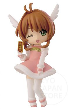 2014 Cardcaptor Sakura Ichiban Kuji D Prize Figure FOR Giris Cc clow Card Clamp   eBay