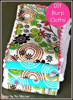 DIY :: Burp Cloths