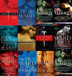 """Black Dagger Brotherhood Series..."" by J.R. Ward"