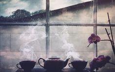 Jasmine Tea in the morning Visit teacoffeebooks.tumblr.com