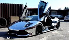 Lamborghini Murcielago LP640 Wrapped in Chrome by DBX