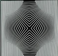 Tributo a Grignani, il designer della pura lana vergine - Milano - Repubblica. Illusion Kunst, Illusion Art, Art Optical, Optical Illusions, Op Art, Logo Sketches, Pattern Art, Print Patterns, Principles Of Design