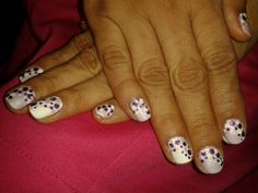 Purple #nailswag #nailsart #nails #colors #polish #beauty #nail