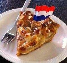 """Tourte aux pommes à l""""hollandaise"""