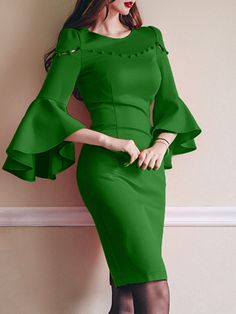 Soft Dramatic dress